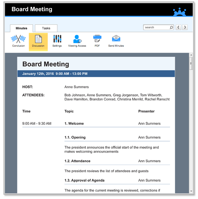 minutes of meeting template tips