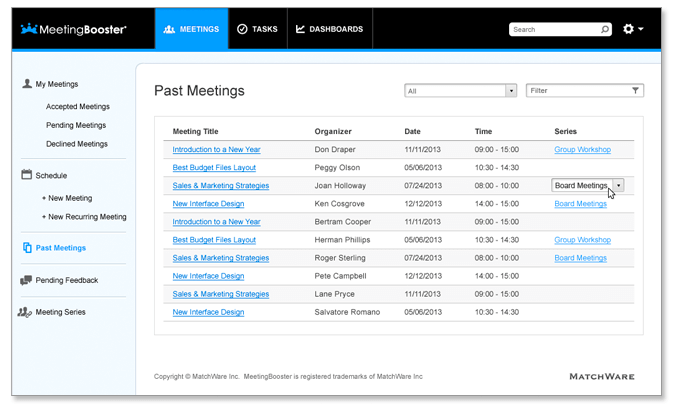 minutes of meeting sample template